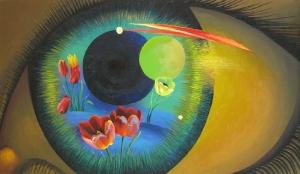 Глаз и цветы